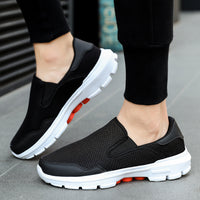 Men Mesh Casual Lightweight Breathable Sneakers