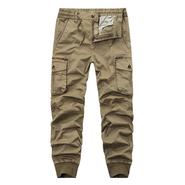 High Quality Men Military Style Cotton Cargo Pants