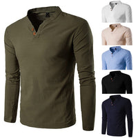 Men Classic Style Casual Loose Shirt