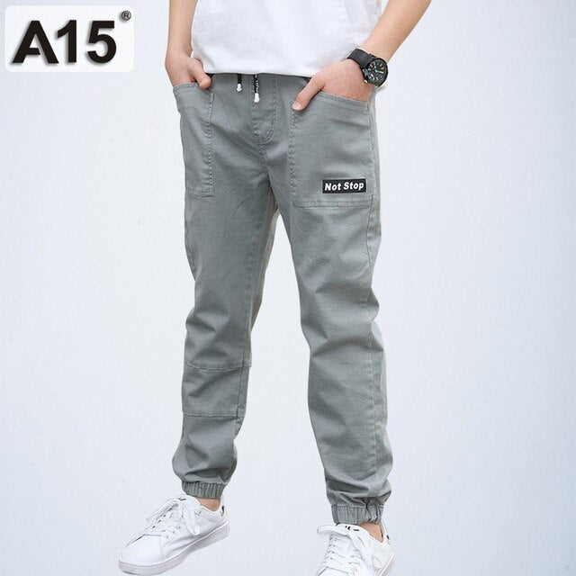 Boys Pants Casual Cotton Sports Joggers