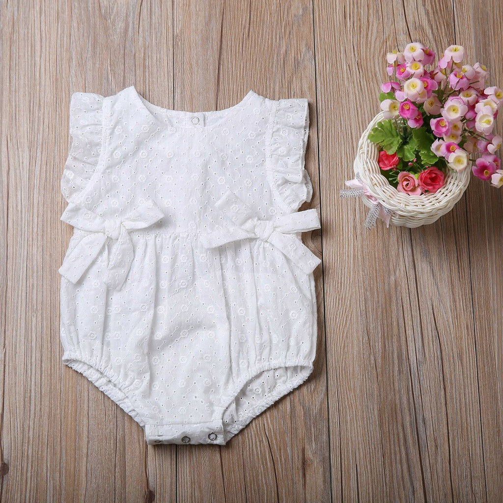 Newborn Baby Girls Onesie Pure Cotton Romper Infant Girl Outfit