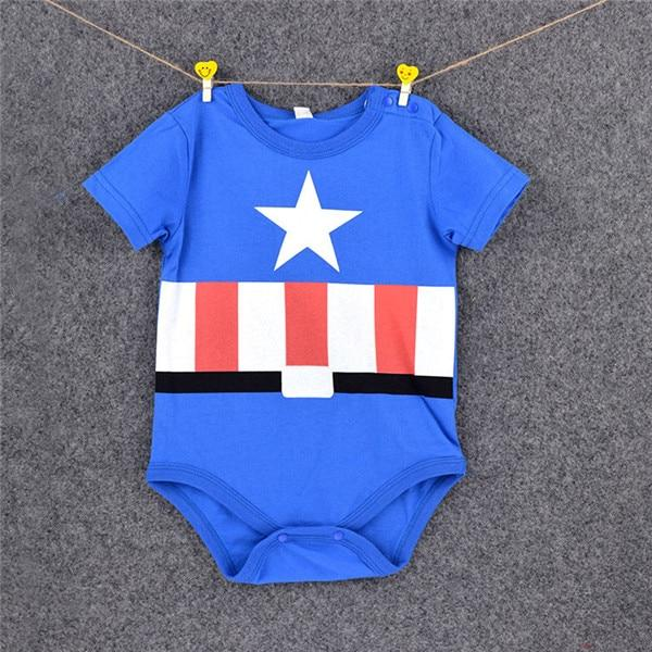 Summer Newborn Baby Girl Clothes Cartoon Baby Boy Rompers
