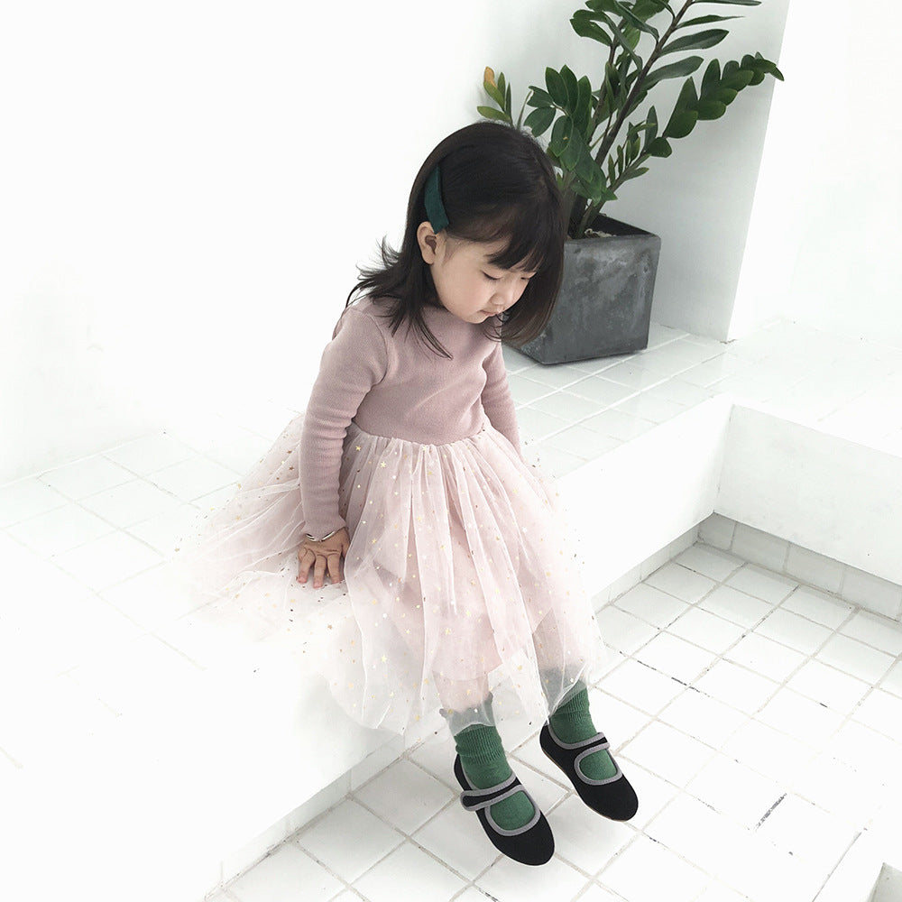 Toddler Girl Dress Long Sleeved Cute Princess Dress