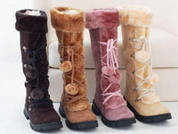 Women Winter Snow Boots Super Warm Premium Quality Thick Plush Zipper Long Boots