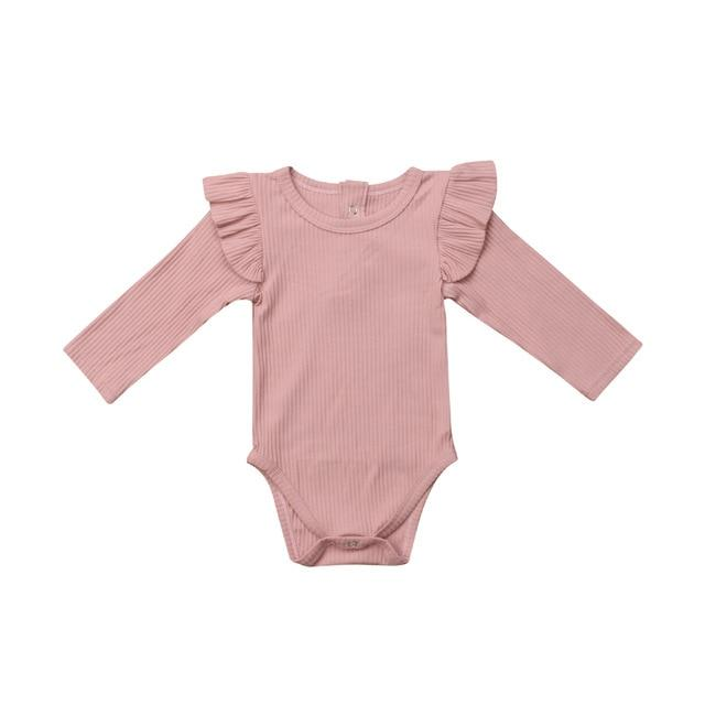 Newborn Baby Boy  Romper Jumpsuit Summer Long Sleeve Clothes