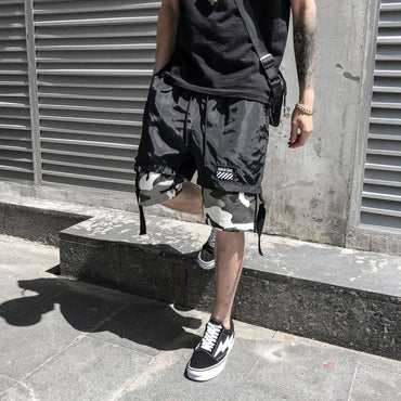 Men Cool Camouflage Slim Fit Fashion Cargo Shorts