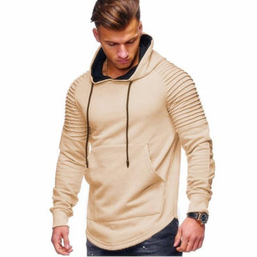Cool Fashion Men Hoodies Sportwear Slim Fit Hoodies