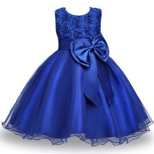 Girls Princess Dress Elegant Design Party Dress
