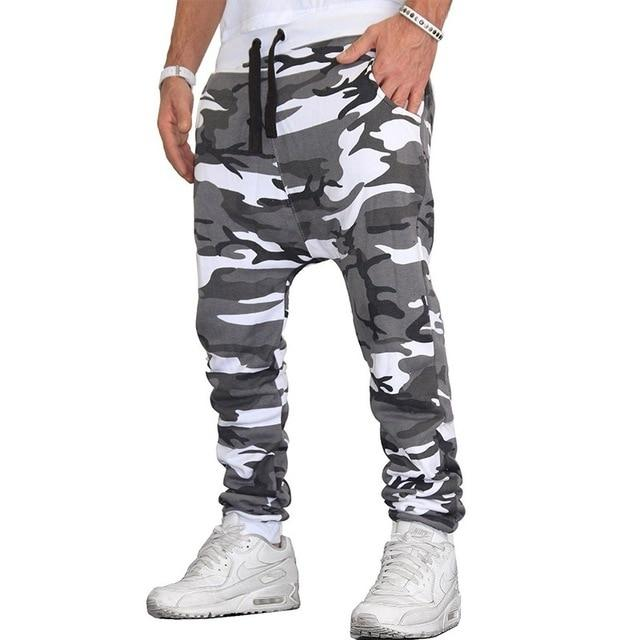 Hot Selling Men Camouflage Fashion Slim Fit Sweatpants