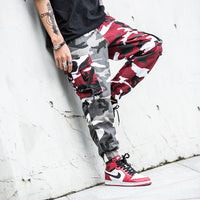 Street Style Men Military Big Pocket Cargo Pants