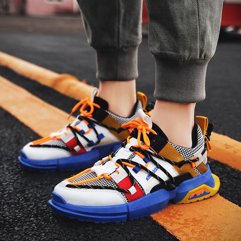 Fashion Retro Dad Sneakers Men Casual Shoes