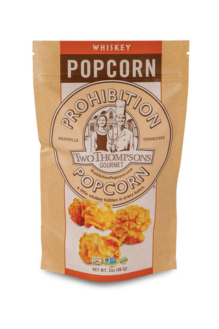 3-PACK SMALL • 3 Bags of Gourmet Popcorn — (2-oz. size bags with resealable zip tops)