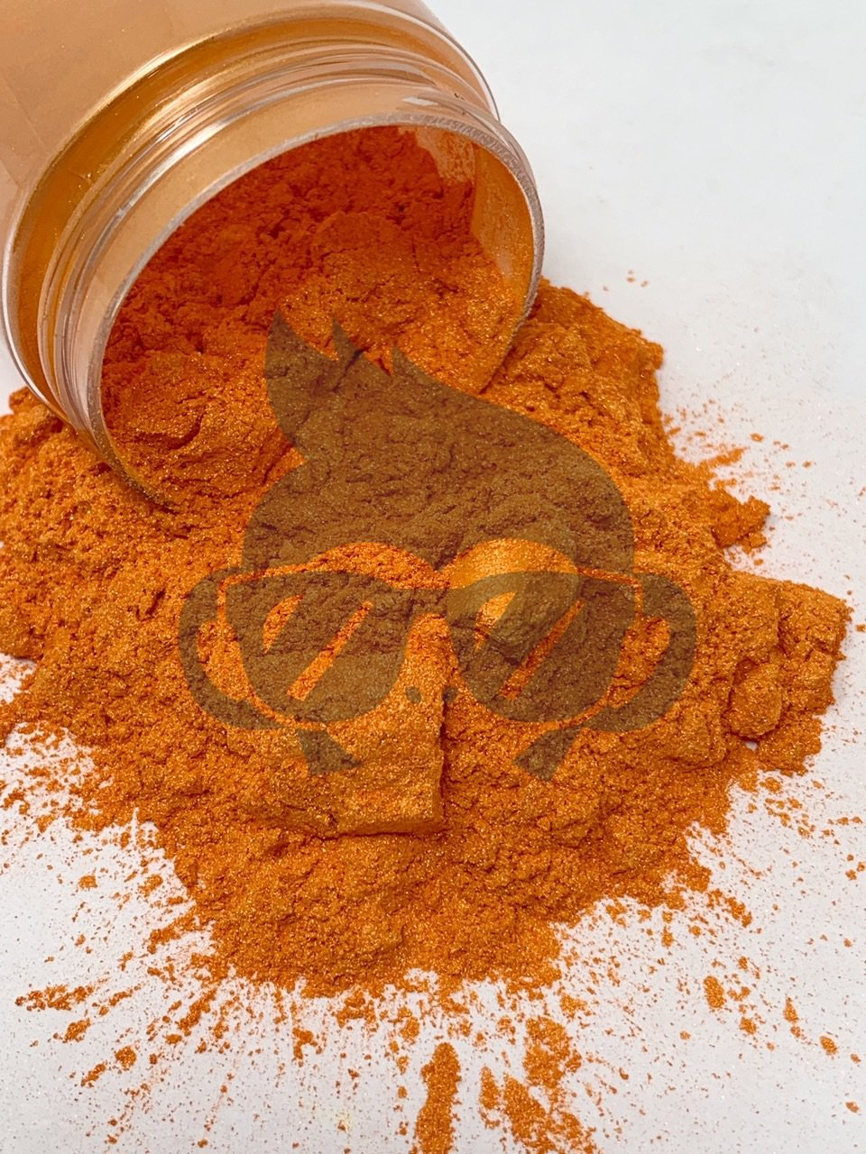 Mica Powder Tangerine 1 oz Bottle