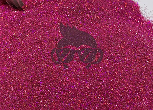Raspberry Ultra Fine Holographic 2 oz Bottle