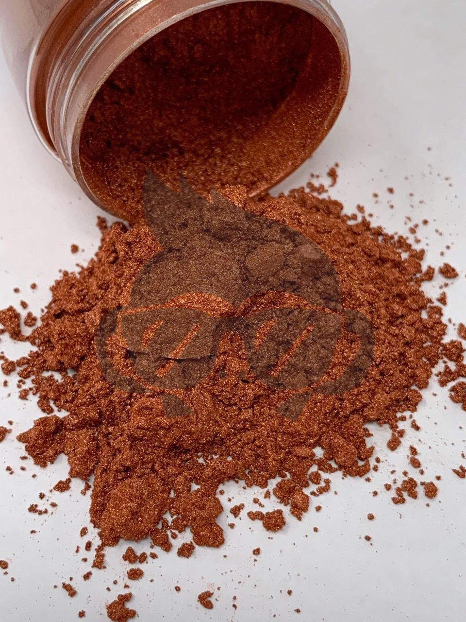 Mica Powder Rustic Peach 1 oz Bottle