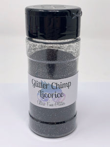 Ultra Fine Glitter Licorice 2 oz Bottle