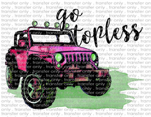 ADV 21 Go Topless Jeep Pink