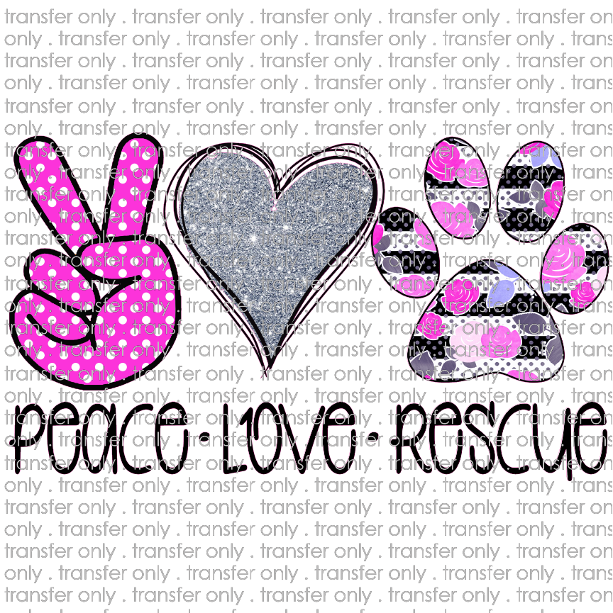 ANM 50 peace love rescue