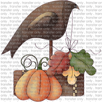 ANM 64 crow with pumpkin
