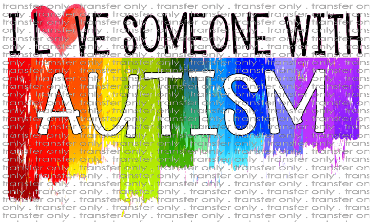 AWR 18 I love Someone with Autism Paint