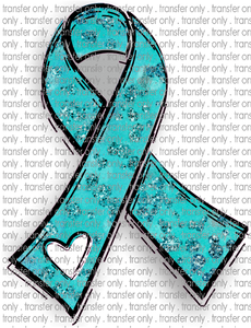 AWR 35 Teal Ribbon