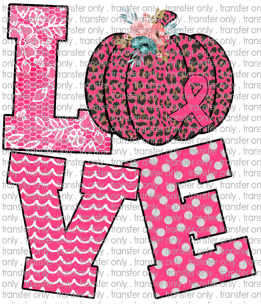 AWR 50 Love Awareness Pumpkin Pink