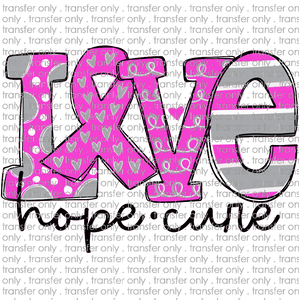 AWR 55 love hope cure breast cancer