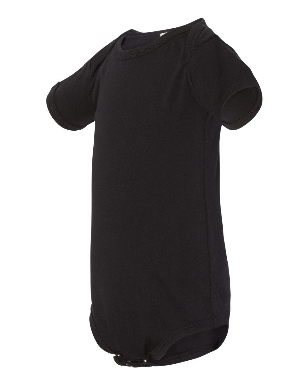 Bella Canvas Baby Bodysuit Black 100B