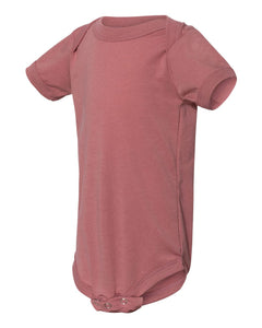 Bella Canvas Baby Bodysuit Mauve Triblend 134B