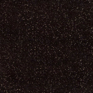 Siser Glitter HTV Black Sheet