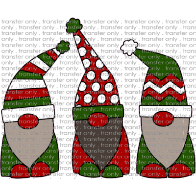 CHR 161 Three Santa Gnomes
