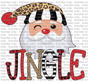 CHR 189 Santa Jingle Leopard