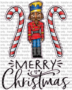 CHR 206 Merry Christmas Nutcracker Candy Cane
