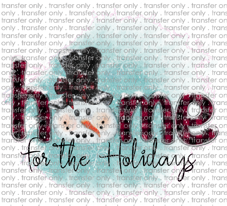 CHR 229 Home for the Holidays Snowman
