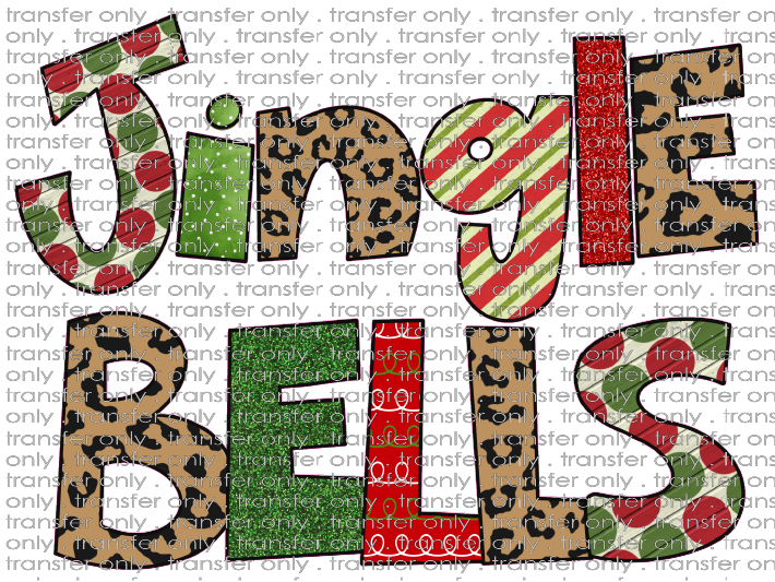 CHR 287 Jingle Bells Leopard Dots Stripes
