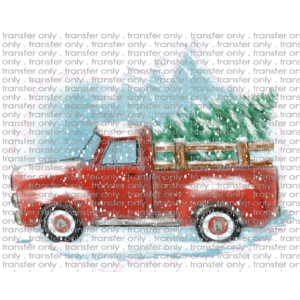 CHR 75 Hand Drawn Christmas Truck