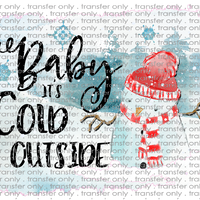CHR 87 Baby It's Cold Outside Snowman