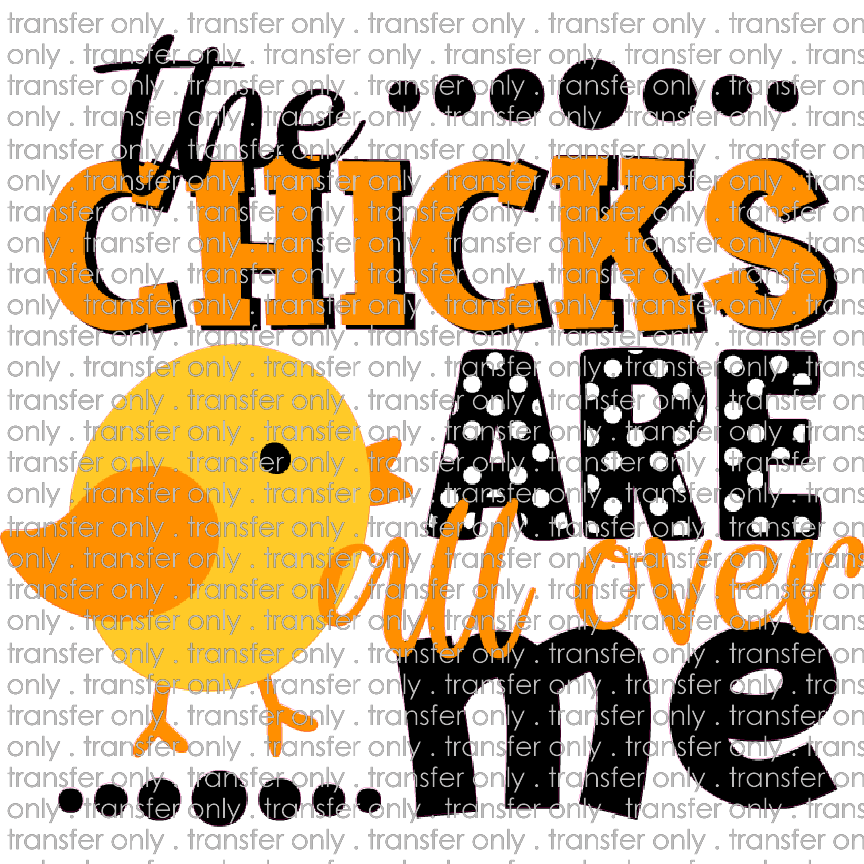 EST 72 Chicks Are All Over Me