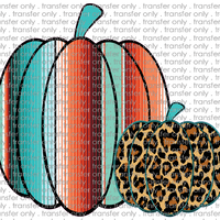 FALL 121 Serape and Leopard Pumpkin