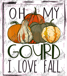 FALL 181 Oh My Gourd