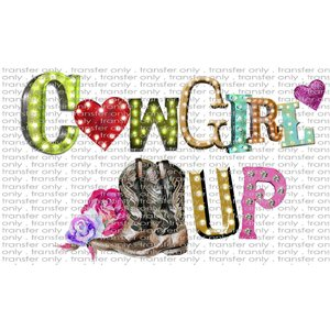 FARM 7 Cowgirl up Metal