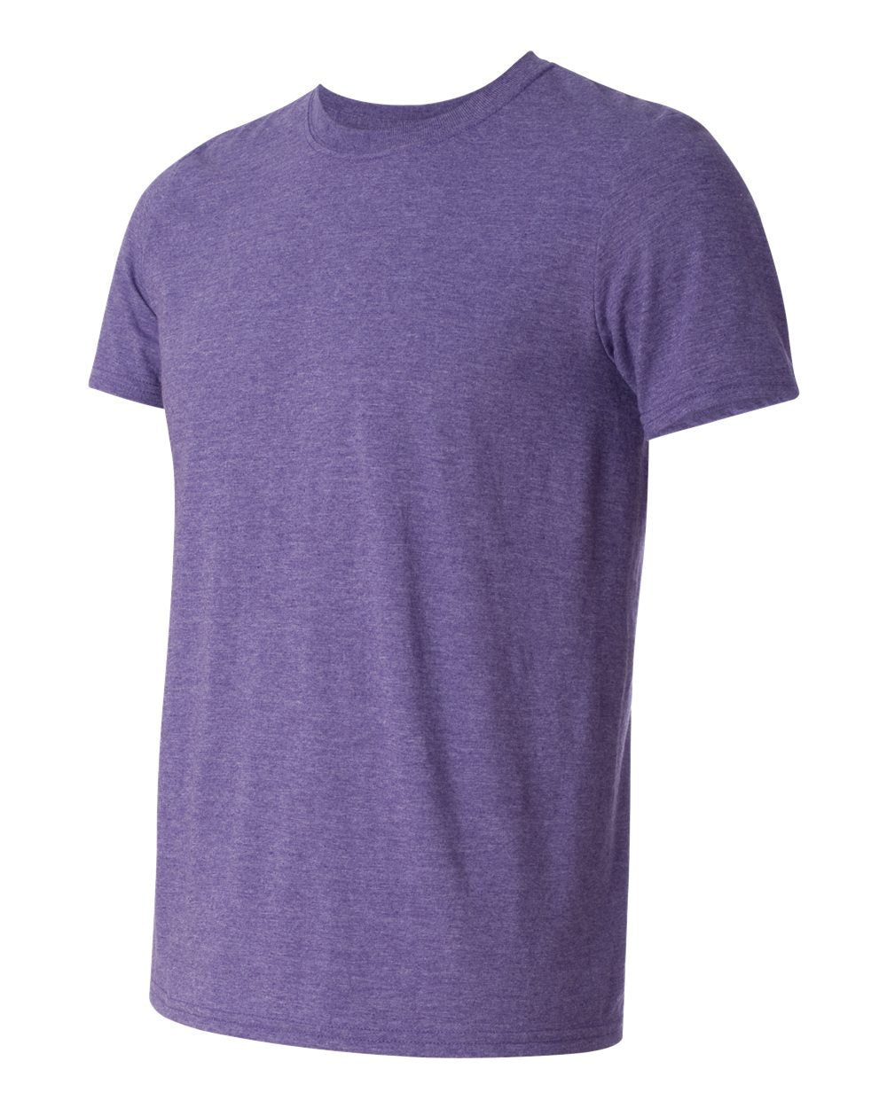 Gildan SoftSytle Cotton 64000 Heather Purple