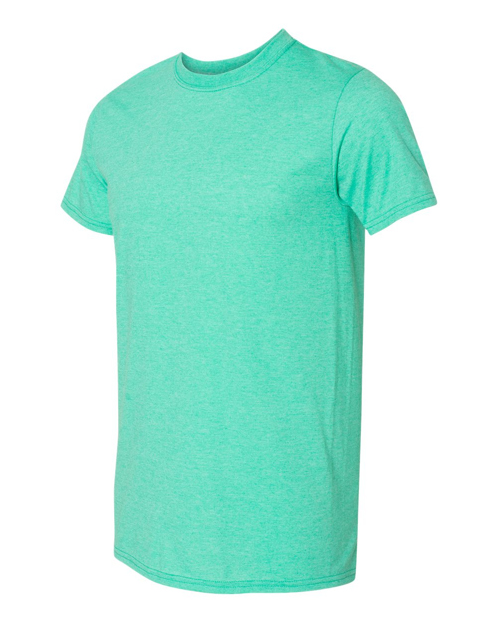 Gildan SoftSytle Cotton 64000 Heather Seafoam