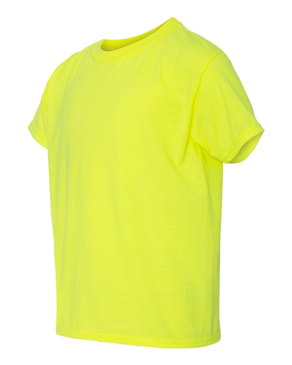 GILDAN Youth 64500B T-shirt Safety Green