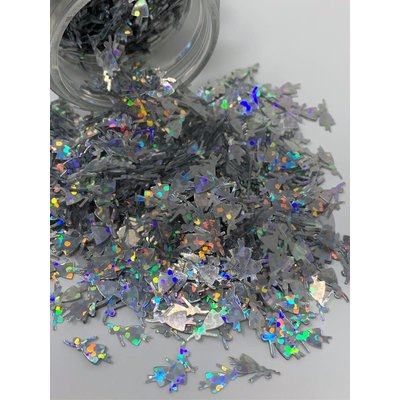 Holographic Shape Tiny Dancer 1 oz Bottle