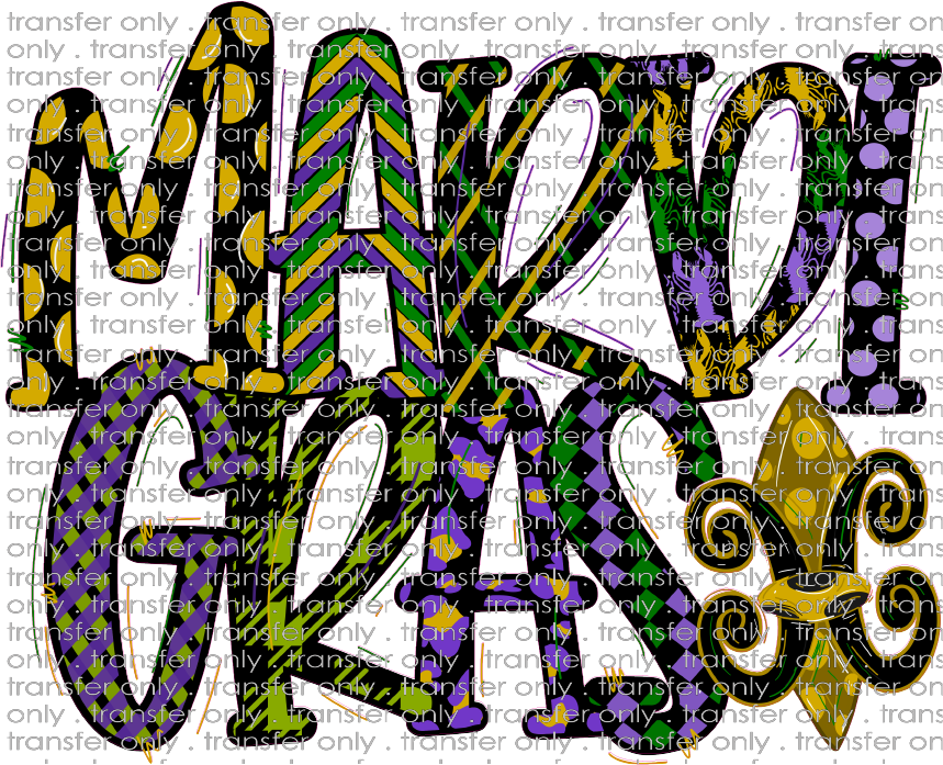 MG 18 Mardi Gras Purple and Gold