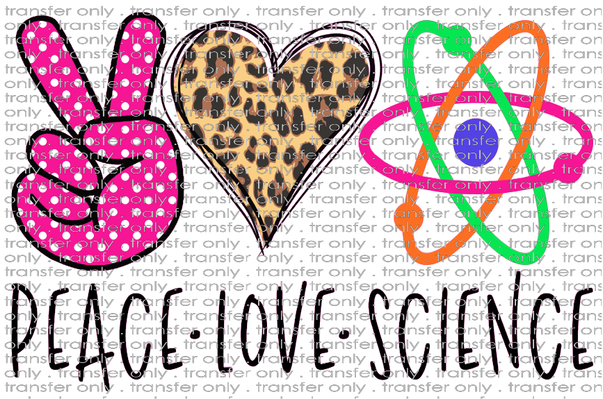 PEACE 48 Peace Love Science 2