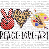 PEACE 80 Peace Love Art