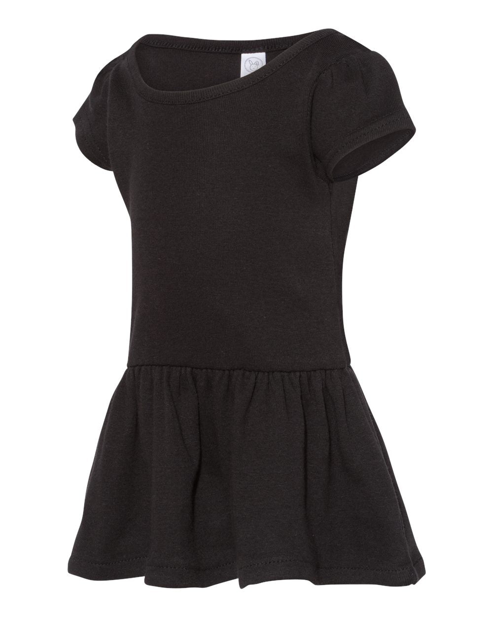 Rabbit Skins Toddler Dress 5323 Black