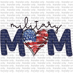 USA 70 military mom navy letters